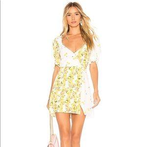 NWT For Love and Lemons Savannah mini dress